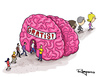 Cartoon: Free mind (small) by Marcelo Rampazzo tagged free,mind