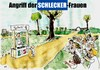 Cartoon: Schlecker-Frauen (small) by Florian France tagged schlecker,konkurs,schleckerfrauen,frauen,schleck,eis,gelati