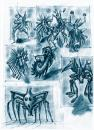Cartoon: mini monsters (small) by neudecker tagged sketch drawing illustration art comic cartoon animals line character