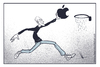 Cartoon: Jobs (small) by Mecho tagged steve,jobs,tibute