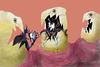 Cartoon: caries... (small) by ivo tagged wow