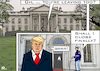 Cartoon: Closing Time at the White House (small) by RachelGold tagged usa,president,trump,white,house,speakers,team,come,and,go