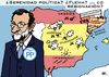 Cartoon: Don Quijote Rajoy (small) by RachelGold tagged spain,elections,parties,pp,psoe,podemos,ciudadanos,rajoy