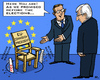 Cartoon: election promise (small) by RachelGold tagged eu,elections,commission,presidency,pes,juncker