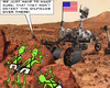 Cartoon: Mars Probe (small) by RachelGold tagged mars,probe,rover,nasa,us