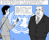 Cartoon: UN-Politics (small) by RachelGold tagged uno,guterres,saudiarabia,womens,rights