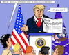 Cartoon: US-Steuerreform (small) by RachelGold tagged usa,trump,steuerreform