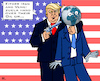Cartoon: US Foreign Policy (small) by RachelGold tagged usa,foreign,policy,iran,venezuela,middle,east,syria,irak,libya,afghanistan,latin,america,trump,petroleum,oil,world,war,russia