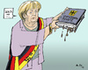 Cartoon: Blot (small) by MarkusSzy tagged merkel,deutschland,berlin,verfassungsschutz,nazi,blot,neonazi,german,officers