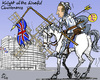 Cartoon: Don Camerote (small) by MarkusSzy tagged eu,european,union,cameron,uk,don,quijote