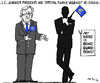 Cartoon: Euro Bond (small) by MarkusSzy tagged european,union,eu,juncker,economy,currency,euro,jamesbond,bonds