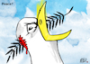 Cartoon: Peace (small) by Nayer tagged peace,war