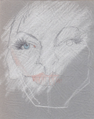 Cartoon: Annie Lennox (medium) by zed tagged annie,lennox,scotland,musician,artist,portrait,caricature