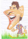 Cartoon: Lionel Messi (small) by zed tagged lionel,messi,football,argentina,spain,barcelona,portrait,caricature,famous,people