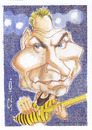 Cartoon: Sting (small) by zed tagged gordon,matthew,thomas,sumner,uk,musician,rock,and,roll,singer,portrait,caricature