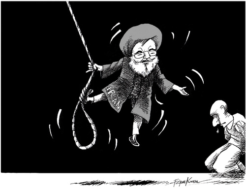 increased hanging in iran