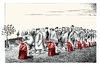 Cartoon: Armenian.deportation.24.04.1915 (small) by firuzkutal tagged armenia,armenian,massacre,deportation,gword,ottoman,osmanli,1915,kutal