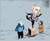 Cartoon: Russia Presidential Election 201 (small) by firuzkutal tagged russia,presidential,election,firuz,kutal,ksenia,sobchak,putin,communist,party,pavel,grudinin
