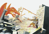 Cartoon: Drachenkrieger (small) by Thilo Krapp tagged drache,dragon,fantasy