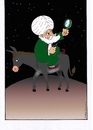 Cartoon: hoca nasreddin (small) by kader altunova tagged hoca,nasreddin,esel,spiegel