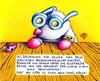 Cartoon: Maulwurf Brille (small) by Jupp tagged maulwurf mole brille glasses junior sohn jupp bomm bilder bild cartoon illustration oma opa gebiss