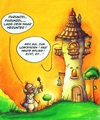Cartoon: Rapunzel (small) by Jupp tagged märchen,rapunzel,cartoon,jupp