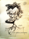Cartoon: Abraham Lincoln (small) by slwalkes tagged lincoln,caricature,pencil,stephenlorenzowalkes
