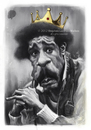 Cartoon: Richard Pryor (small) by slwalkes tagged comedian,actor,stephenlorenzowalkes,caricature,digitalpainting
