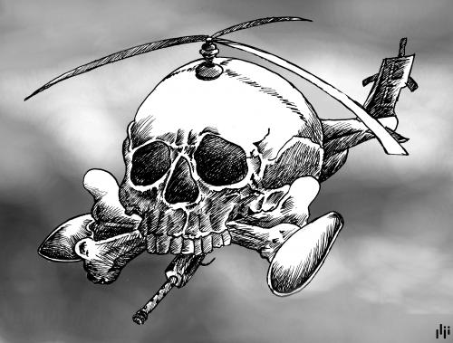 Cartoon Helicopter Blog Title