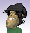 Cartoon: Aaron Swartz Caricature (small) by Mattia Massolini tagged aaron,swartz,activist,caricature,freedom,knowledge