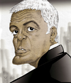 Cartoon: George Clooney (small) by Mattia Massolini tagged george,clooney,caricature