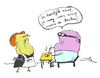 Cartoon: it s delicious dear you can go (small) by studionuts tagged cartoon