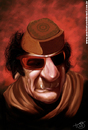 Cartoon: Gaddafi (small) by Toni DAgostinho tagged gaddafi,libia