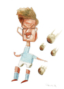 Cartoon: De Bruyne (small) by horate tagged soccer