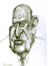 Cartoon: Joao Havelange (small) by horate tagged football
