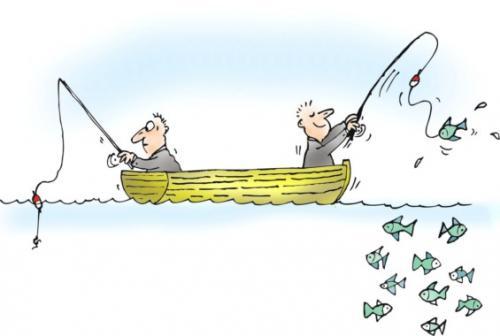 La Mala Suerte del Pescador Salado por José Manuel López Pinto / Factores del porqué se le dificulta sacar peces... Fishing_luck_patience_528835