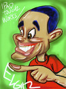 Cartoon: My 1st Ipad Caricature Painting (small) by subwaysurfer tagged ipad,digital,painting,elgin,subwaysurfer,cartoon,caricature,african,american