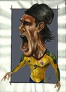 Cartoon: Radamel Falcao Garcia (small) by Arley tagged radamel,falcao,garcia,caricatura,caricature,atletico,madrid,futbol