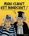 Cartoon: de Villepin avocat ... (small) by CHRISTIAN tagged de,villepin,avocat