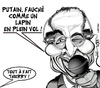 Cartoon: Deces de Thierry ROLAND (small) by CHRISTIAN tagged thierry,roland,foot,dessin,de,presse