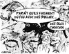 Cartoon: sarko a lascaux ... (small) by CHRISTIAN tagged grotte,visite,president,sarko,lascaux