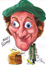Cartoon: MARTY FELDMAN (small) by Tim Leatherbarrow tagged marty,feldman,comedy