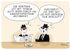 Cartoon: Blues Brothers im AEZ (small) by FEICKE tagged unfall,rentner,einkauf,zentrum,alstertal,aez,blues,brothers,film,szene
