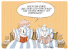 Cartoon: CO2 Zertifikat (small) by FEICKE tagged umwelt,co2,steuer