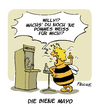 Cartoon: Die Biene Maja (small) by FEICKE tagged biene,maja,wespe,insekt,honig,tv,serie,willy,karel,gott,majonaise,mayonaise