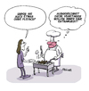 Cartoon: Extrawurst (small) by FEICKE tagged vegan,vegetarisch,vegetarier,essen,grill,koch,wurst,extrawurst