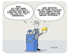 Cartoon: Mais aus den USA (small) by FEICKE tagged handel,tip,usa,europa,abkommen,gen,mais