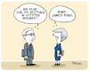 Cartoon: May Rettungsidee (small) by FEICKE tagged europa,britannien,england,brexit,may,europäische,union,juncker