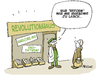 Cartoon: Reformhaus (small) by FEICKE tagged reform,revolution,reformhaus,öko,bio