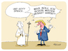 Cartoon: Trump beim Papst (small) by FEICKE tagged trump,papst,audienz,gott